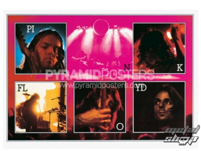 plagát Pink Floyd (Live) - PP0777 - Pyramid Posters