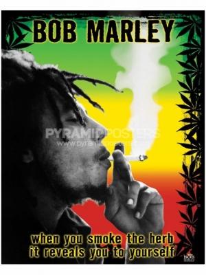 Plagát - Bob Marley (Herb) - PP0978 - Pyramid Posters