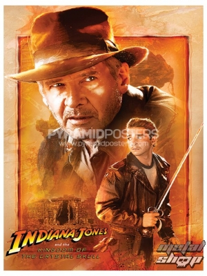 plagát - Indy (Kingdom Of The Crystal Skull - Indiana And Mutt) - PP31451 - Pyramid Posters