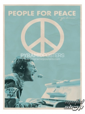 plagát - John Lennon (People For Peace) - PP31806 - Pyramid Posters