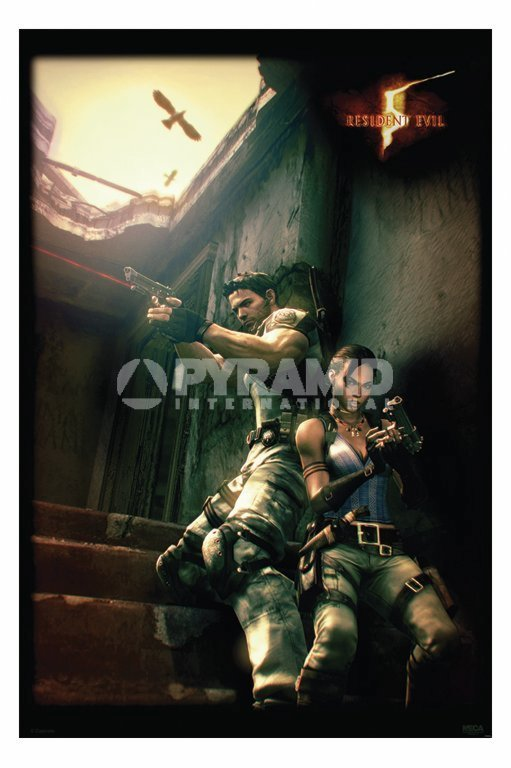 plagát Resident Evil 5 (Against A Wall) - PP31862 - PYRAMID POSTERS