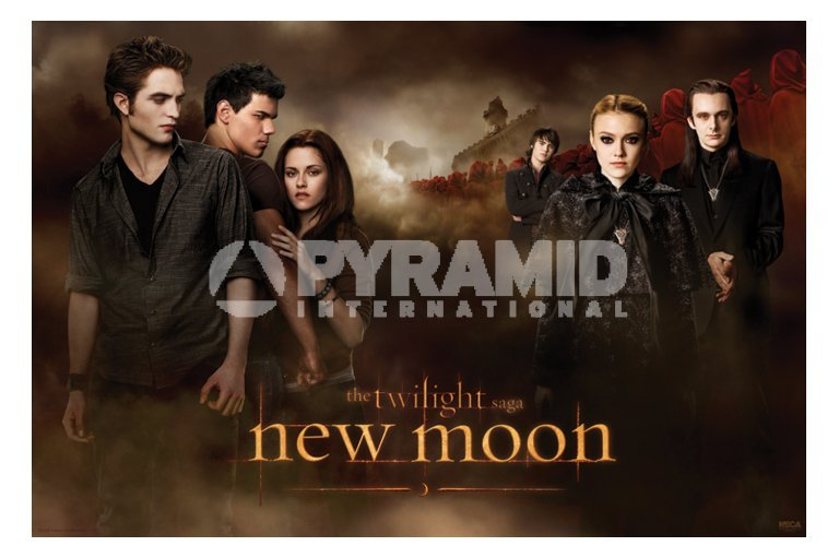 plagát Twilight - New Moon (Threesome & Volturi) (Súmrak) - PP32064 - PYRAMID POSTERS