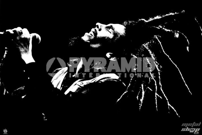 plagát Bob Marley (B&W) - PYRAMID POSTERS - PP32229