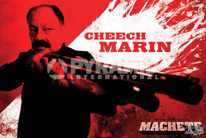 plagát Neca - Machete (Cheech) - PYRAMID POSTERS - PP32374
