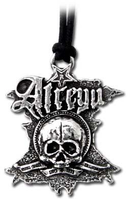 prívesok Atreyu - Logo & Skull PP471 - Alchemy Gothic
