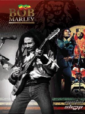 obraz 3D Bob Marley - PPL70046 - Pyramid Posters