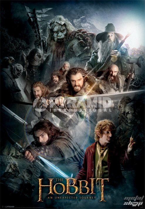 obraz 3D The Hobbit Dark Montage - Pyramid Posters - PPL70157