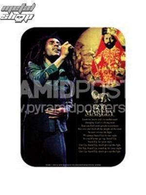 nálepka Bob Marley - Selassie - PS6530T - Pyramid Posters