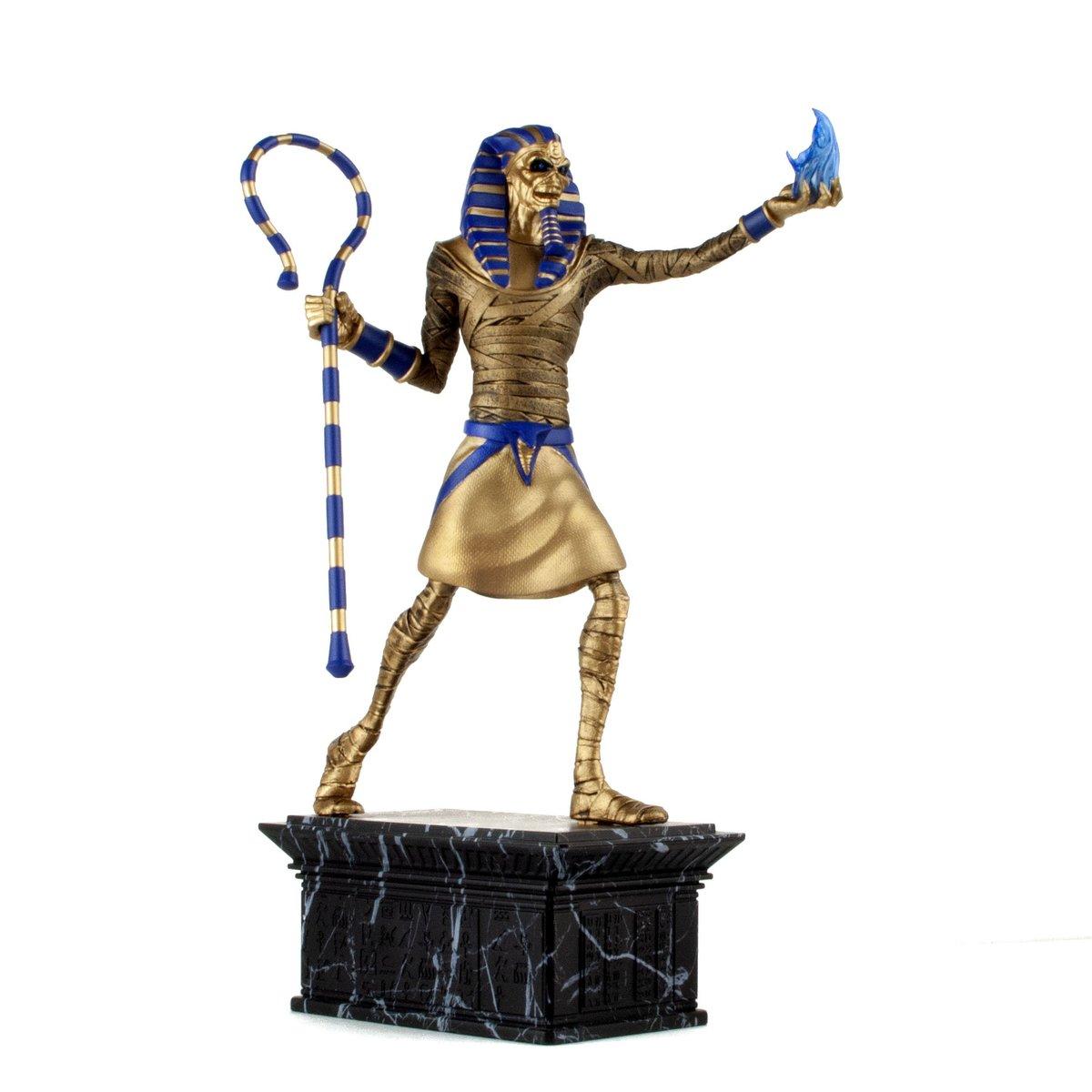figúrka Iron Maiden - Legacy of the Beast - Powerslave Eddie Golden Idol - IMC-0801-A