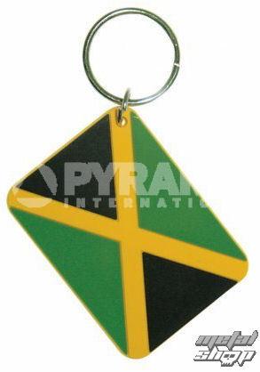 kľúčenka (prívesok) Jamaican Flag - PYRAMID POSTERS - RK38006