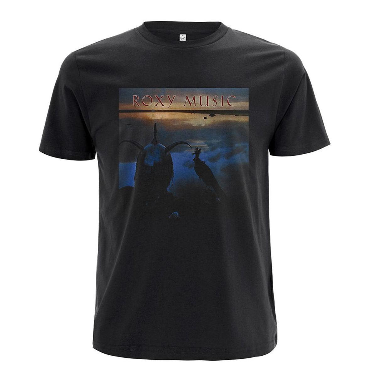 tričko pánske Roxy Music - Avalon Black - RTRMUTSBAVA