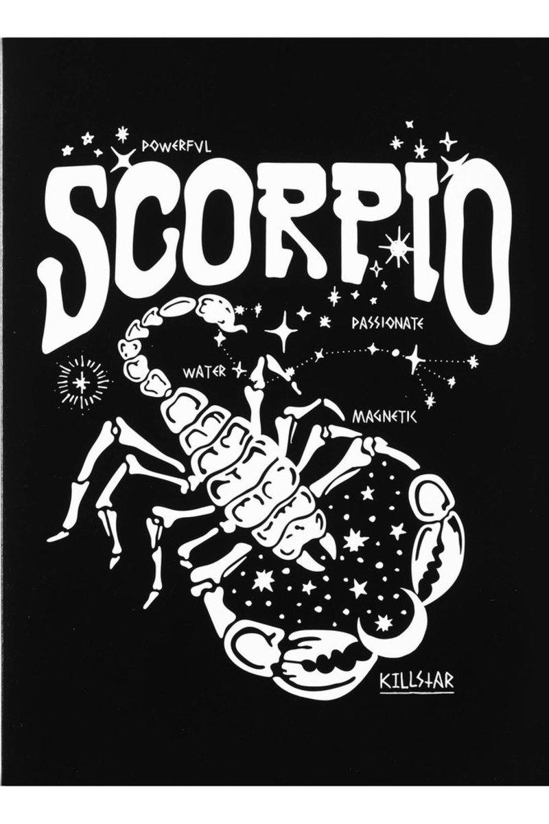 prianie KILLSTAR - Scorpio - BLACK - KSRA000477