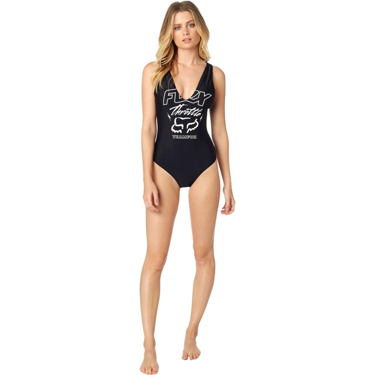 plavky dámske FOX - Throttle - Black - 21089-001