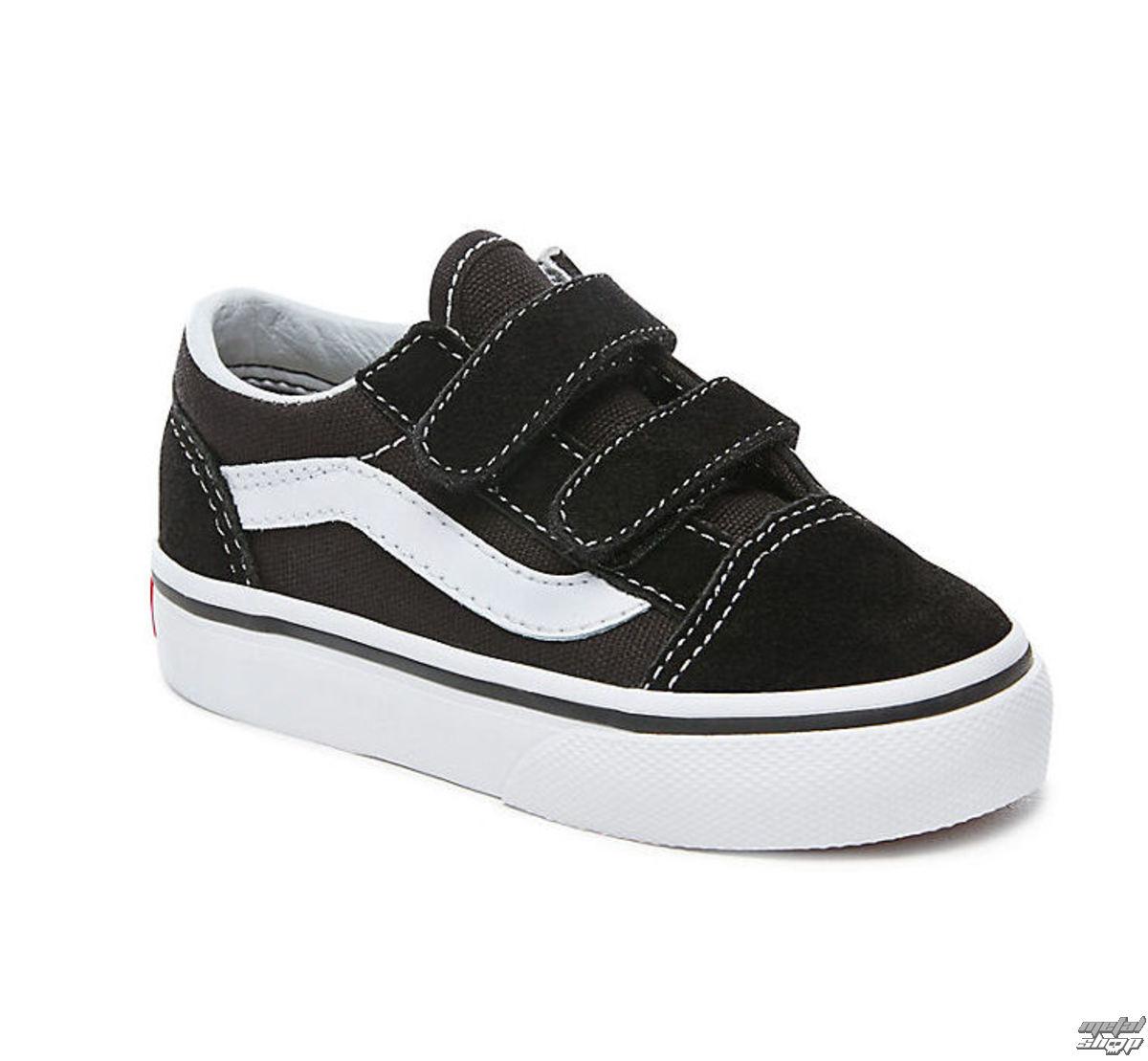 e60952656994c topánky detské VANS - UY OLD Skool V Black / True White - VVHE6BT ...
