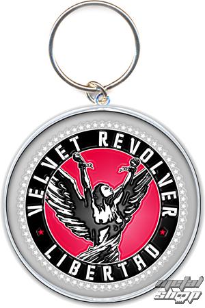 kľúčenka - prívesok Velvet Revolver (Circle Logo) - ROCK OFF - VELVKEY03