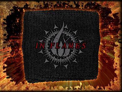 potítko In Flames - Flames Circular Logo - RAZAMATAZ