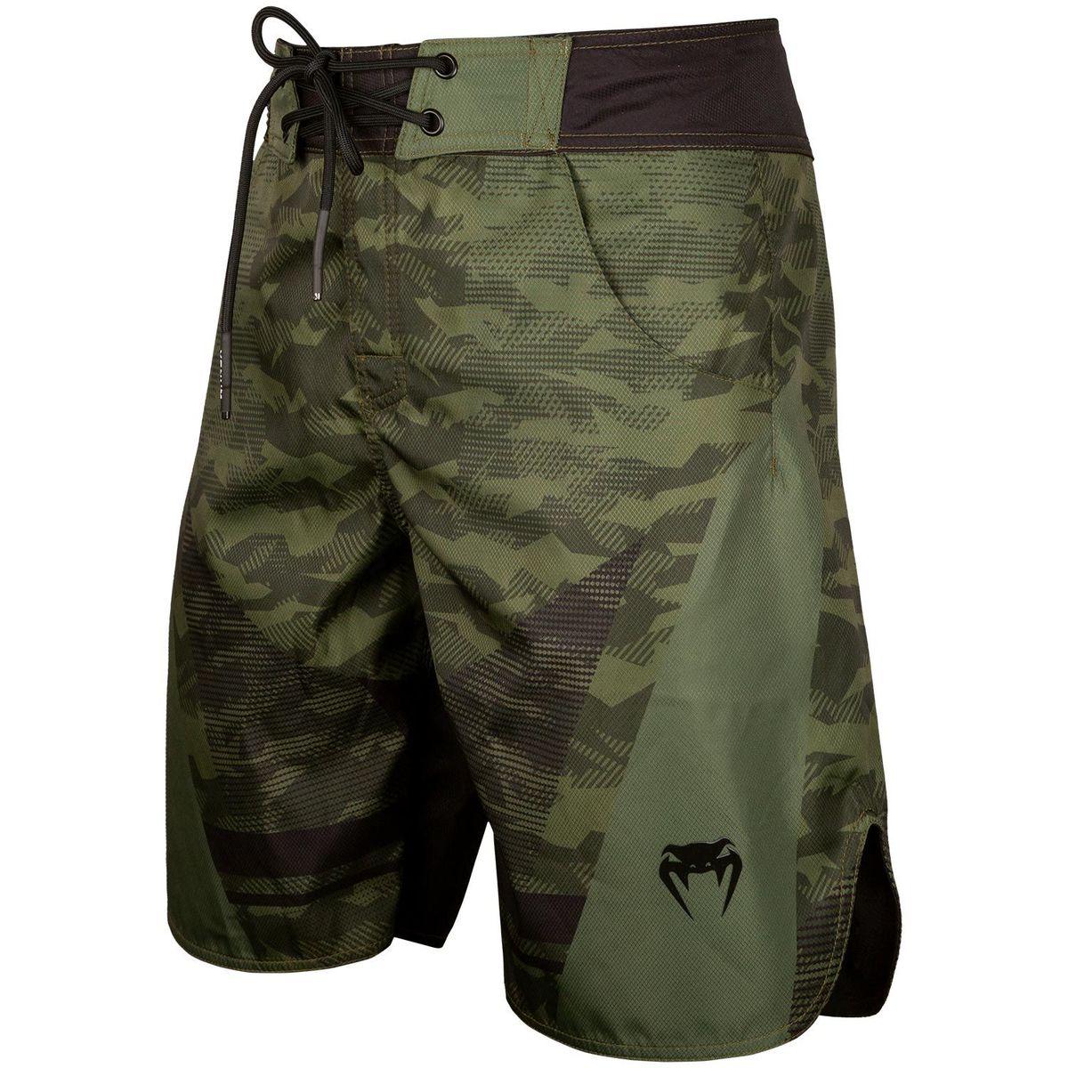 boxerské kraťasy pánske VENUM - Trooper - Forest Camo / Black - VENUM-03702-219