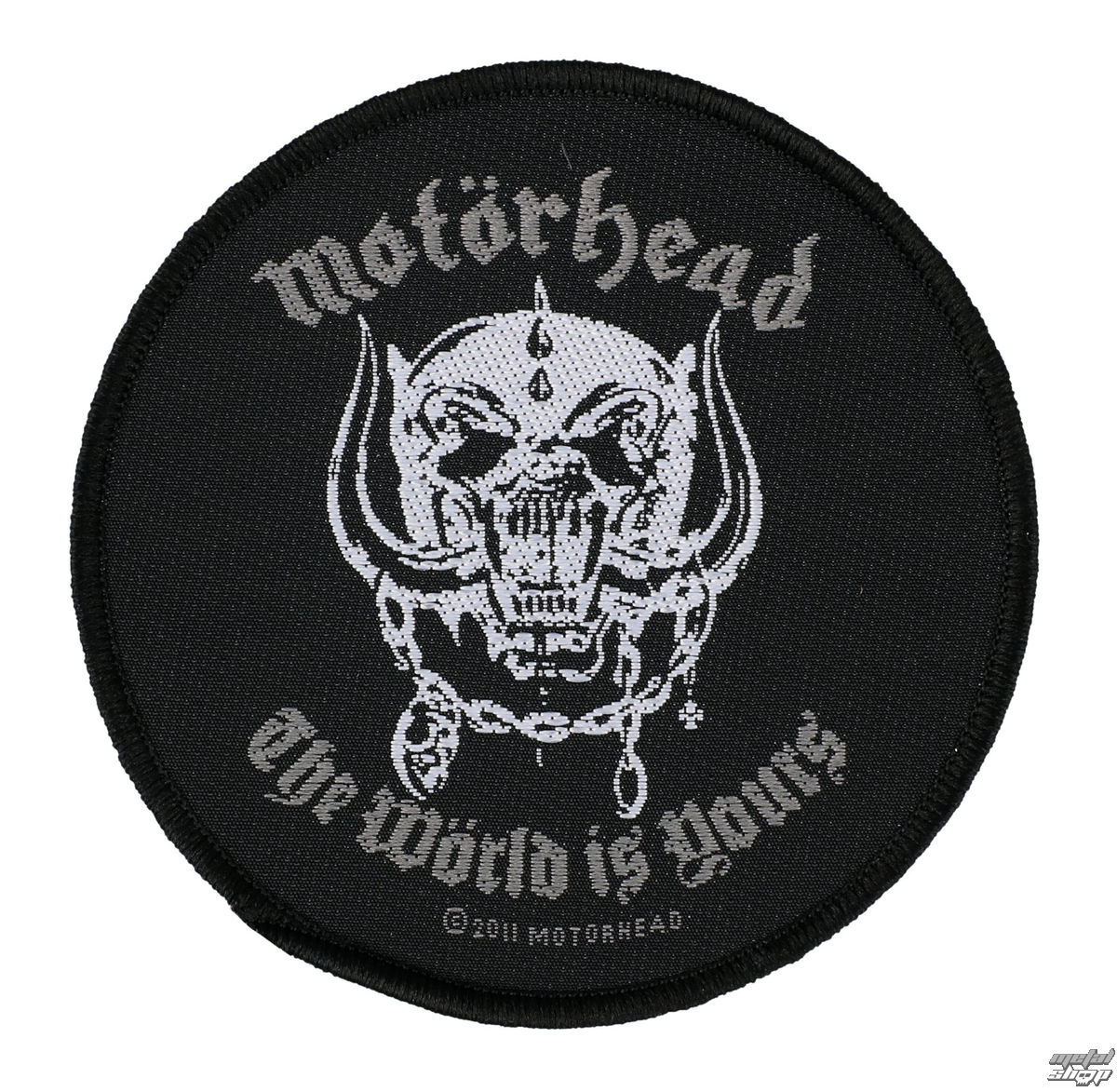 nášivka MOTORHEAD - THE WORLD IS YOURS - RAZAMATAZ - SP2553
