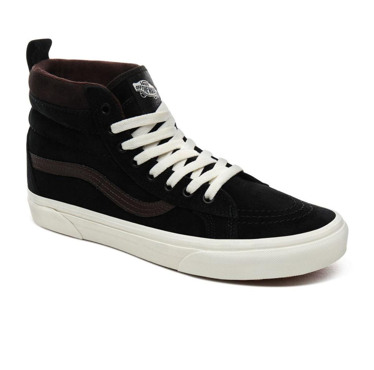 topánky zimný VANS - UA SK8-Hi MTE - MTE - BLK / CHOCOLATE - VN0A4BV7V3Z1