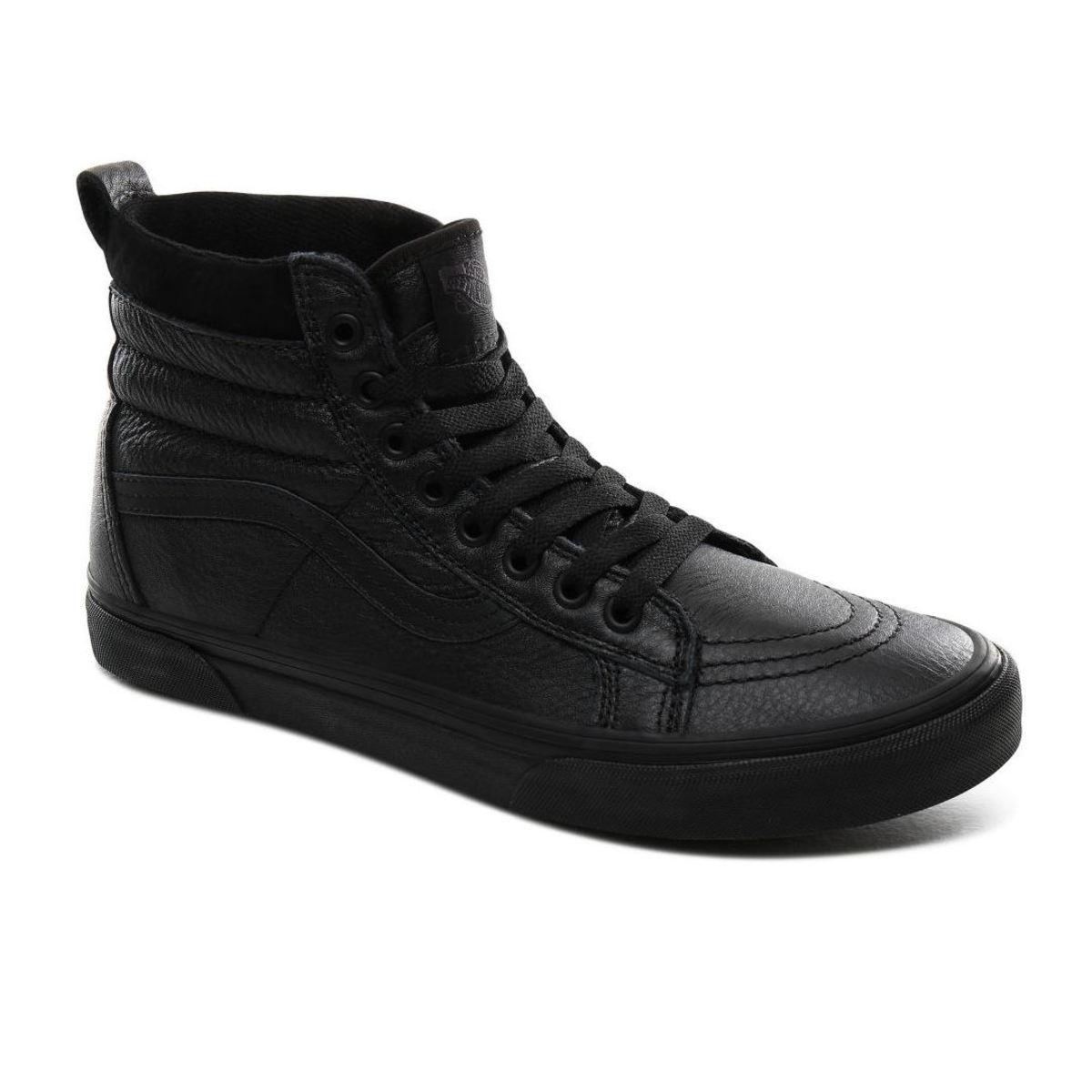 topánky zimný VANS - UA SK8-Hi MTE - MTE - LEATHER / BLACK - VN0A4BV7XKN1