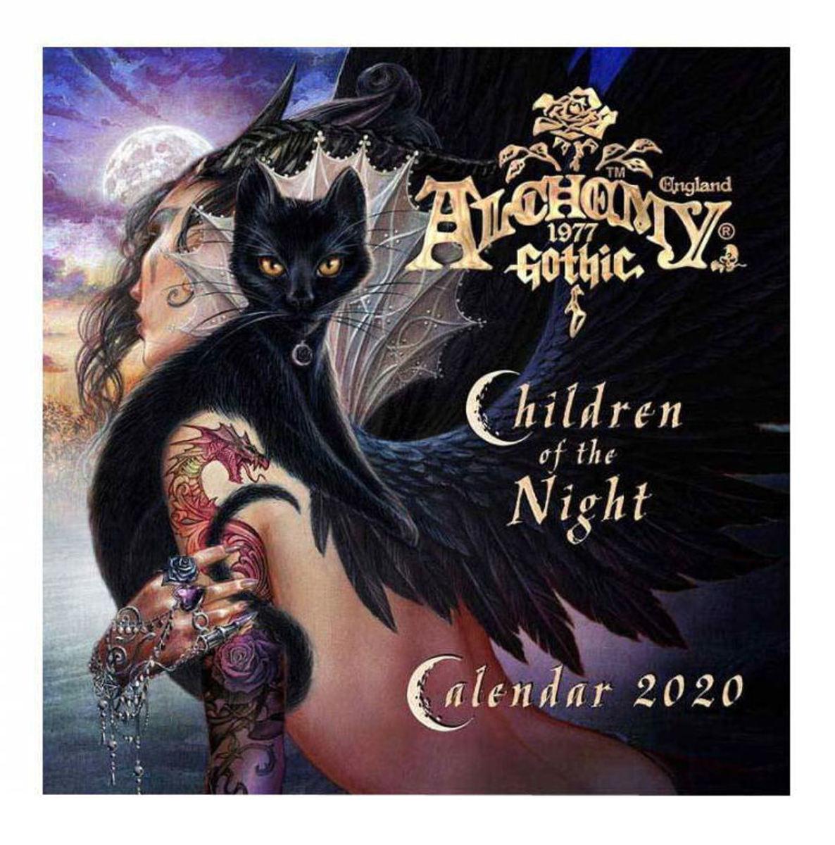 kalendár ALCHEMY GOTHIC - Children Of The Night - CAL20