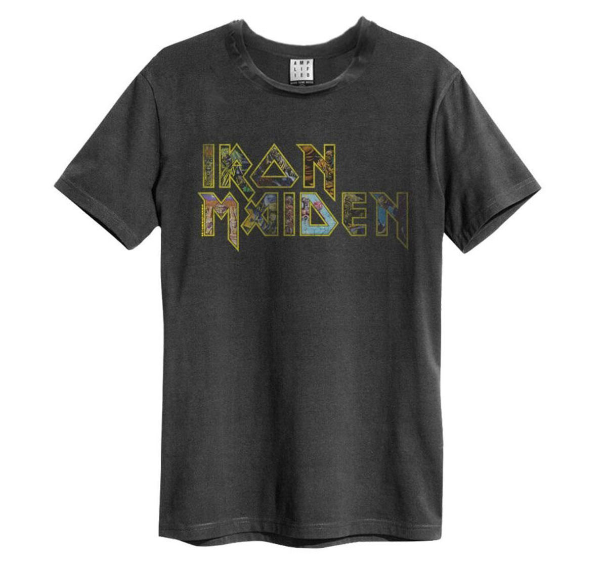 tričko pánske Iron Maiden - Eddies Logo - AMPLIFIED - ZAV210IME