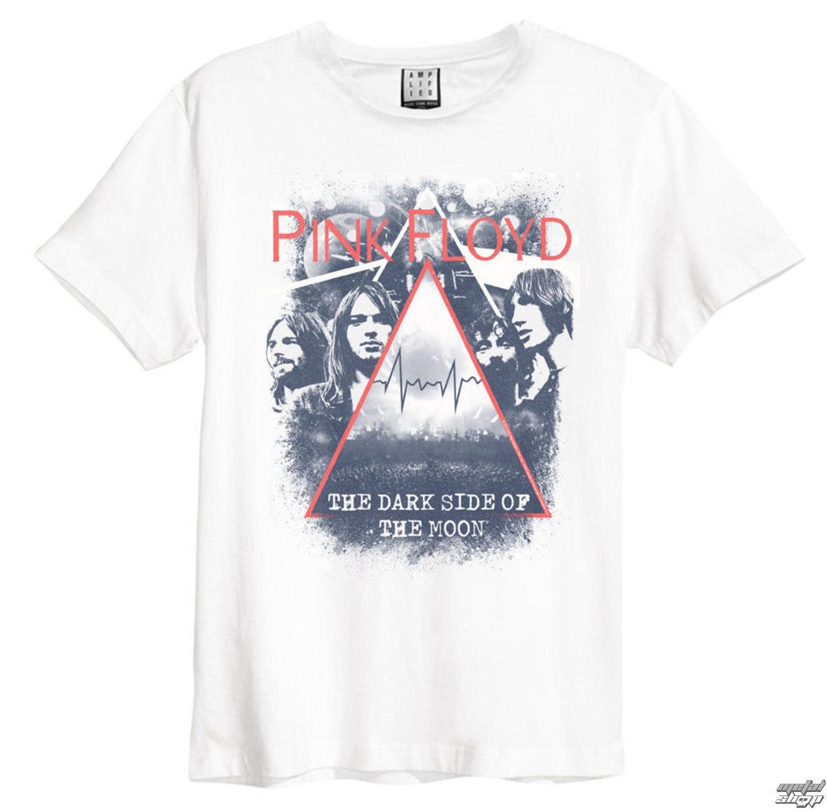 tričko pánske Pink Floyd - Pyramid Faces - White - AMPLIFIED - ZAV210T4F
