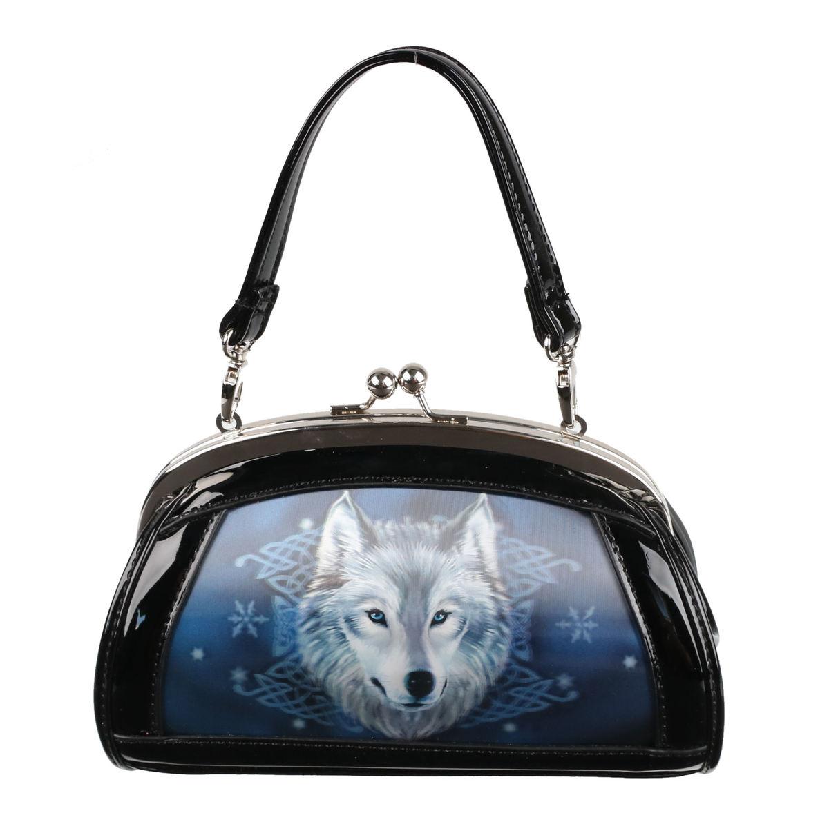 kabelka (taška) ANNE STOKES - Wolf Spirit - Black - AS010