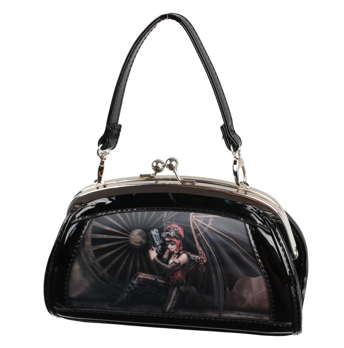 kabelka (taška) ANNE STOKES - Assassin - Black - AS011