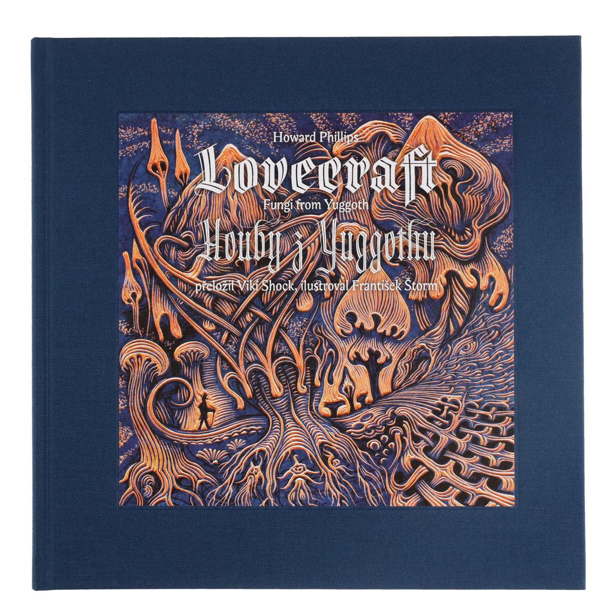 kniha Huby z Yuggothu / Fungi from Yuggoth - Lovecraft Howard Phillip - 9788075114907