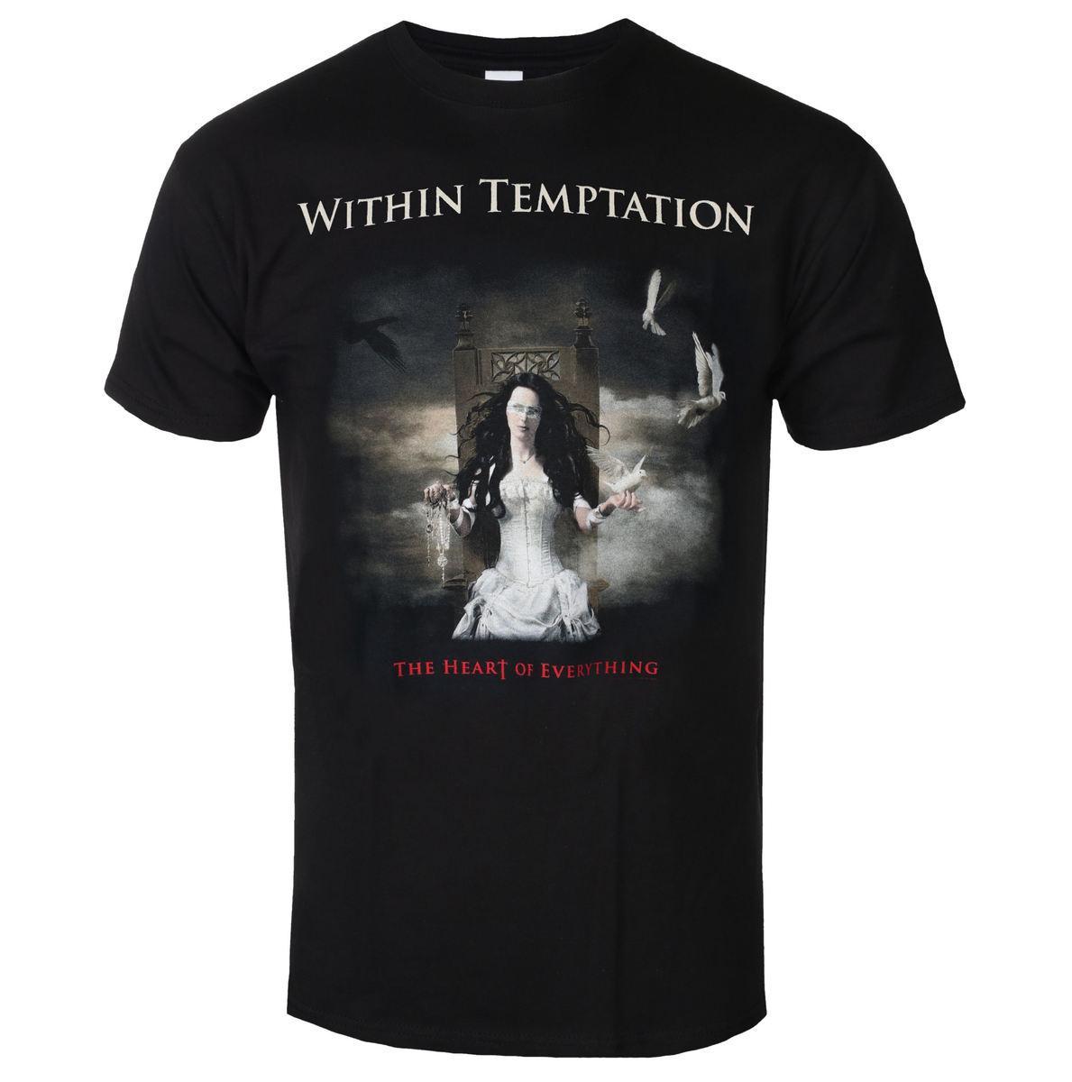 tričko pánske WITHIN TEMPTATION - HEART OF EVERYTHING - PLASTIC HEAD - RTWTETSBHEA
