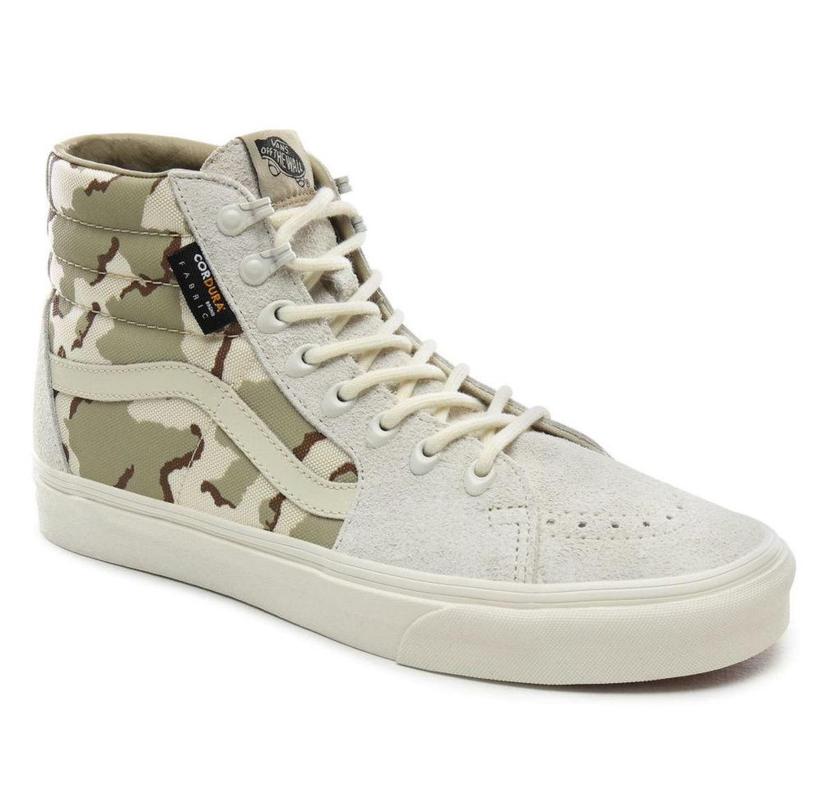 topánky VANS - UA SK8-Hi (CORDURA) WHTASP - VN0A4BV6VZK1