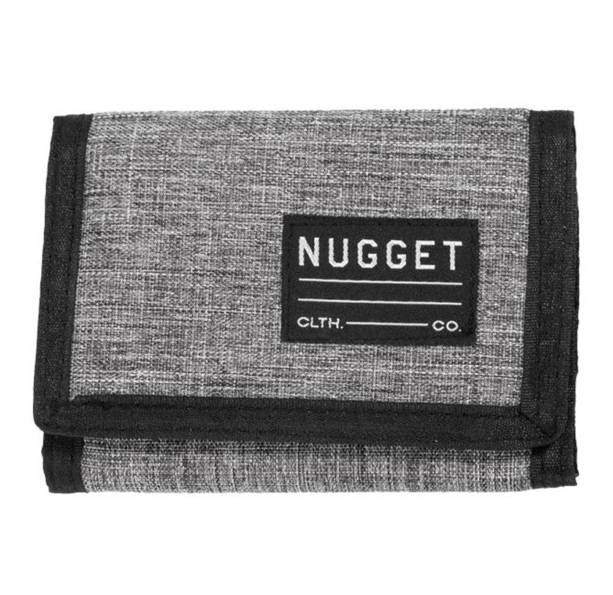peňaženka NUGGET - EVERLONG - B - 1/26/38 - Heather Grey Black - MEAT212