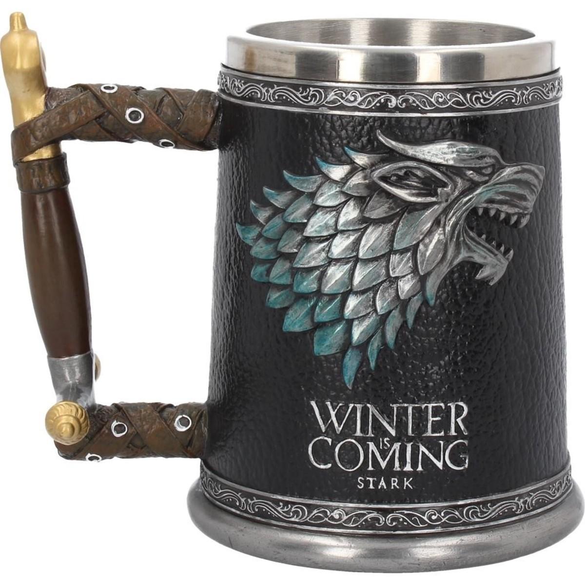 hrnček (korbel) Hra o trůny - Winter is Coming - B3697J7