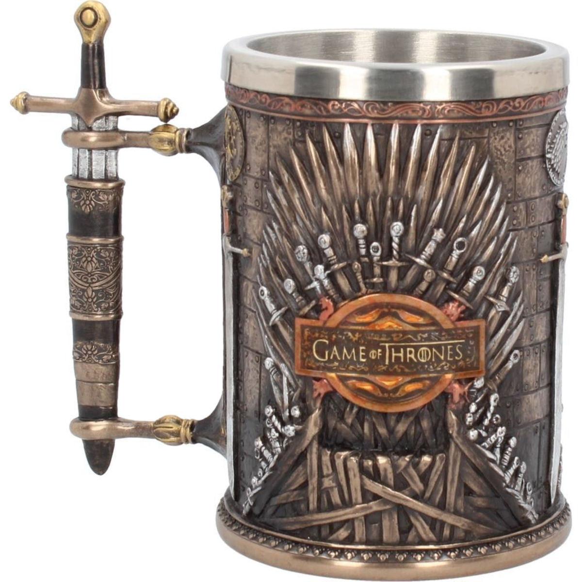 hrnček (korbel) Hra o trůny - Iron Throne - B3698J7