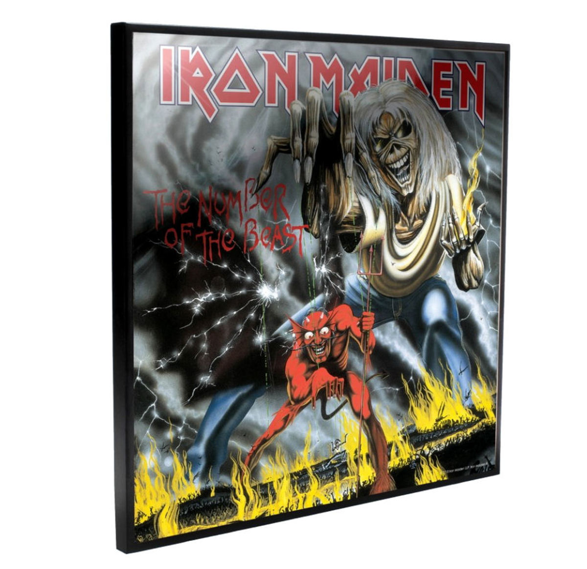 obraz Iron Maiden - Number of the Beast - B4390M8