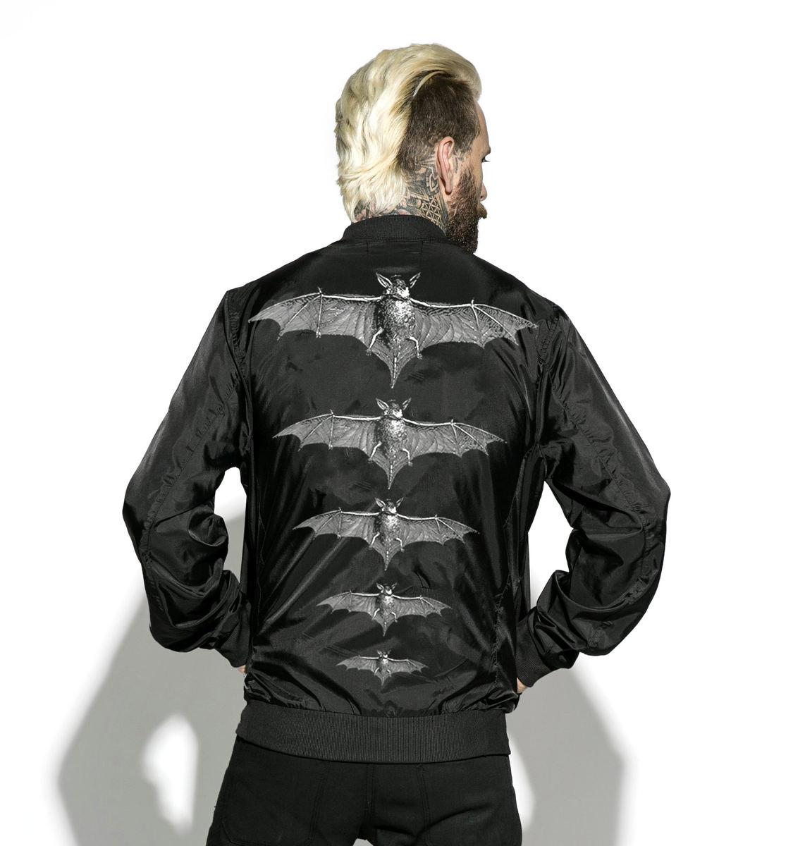bunda unisex (bomber) BLACK CRAFT - Release The Bats - LB011RB