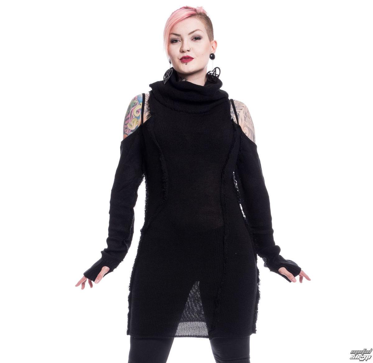 sveter dámsky Vixxsin - BLACK ORCHID - BLACK - POI504
