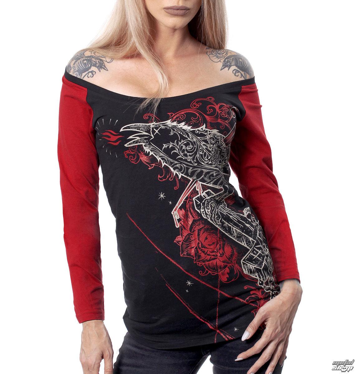 tričko dámske s dlhým rukávom HYRAW - BEHIND - HY269
