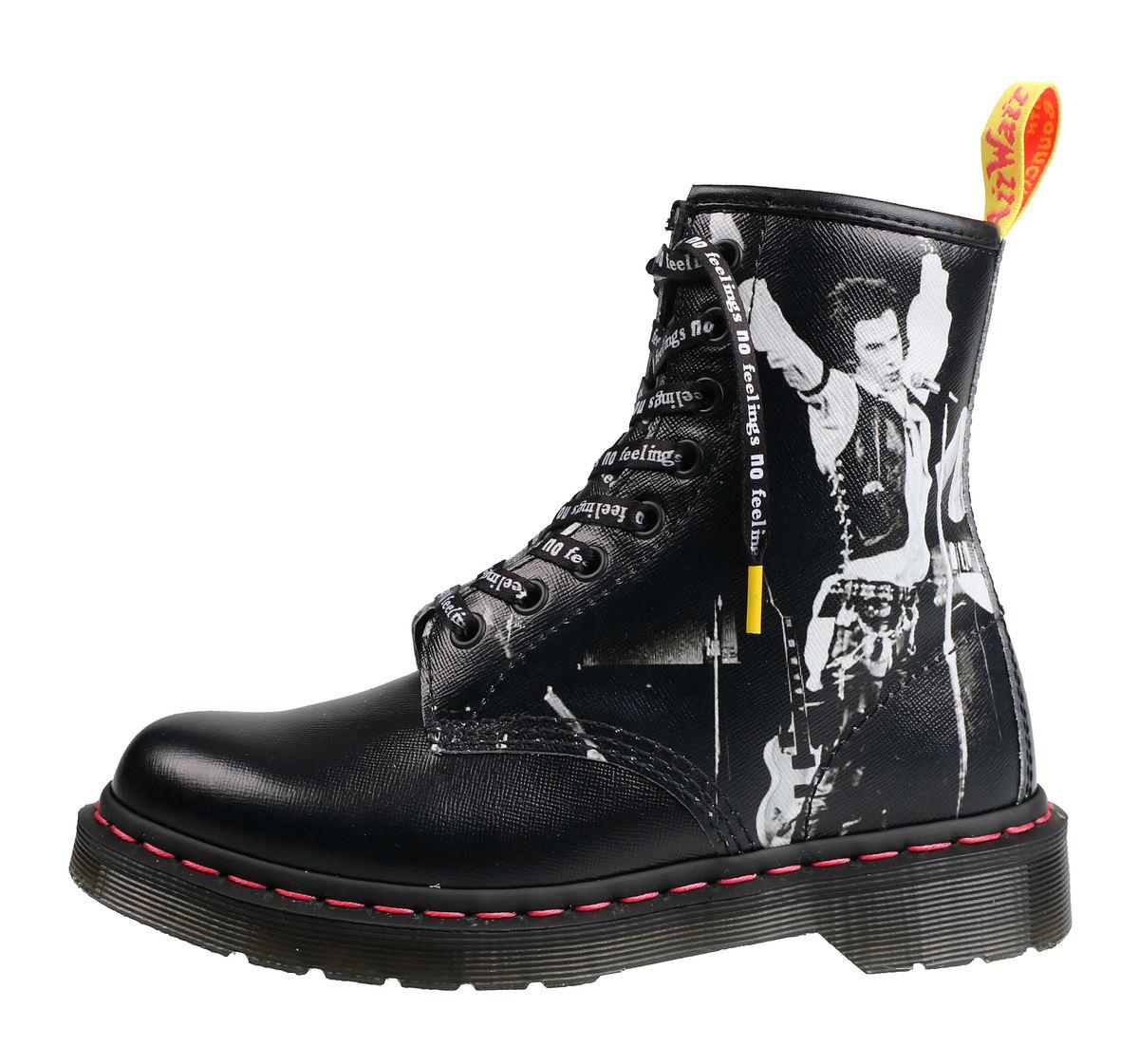 347cef282a657 topánky DR.MARTENS - 8 dierkové - Sex Pistols - backhand straw obilie -  DM24789001