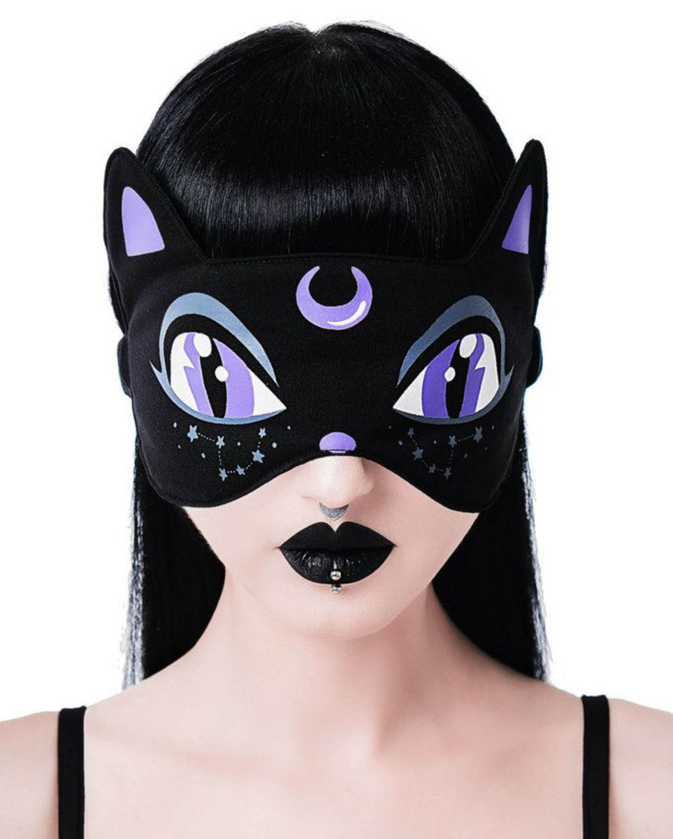 maska na spanie KILLSTAR - Cat Nap - KSRA001902