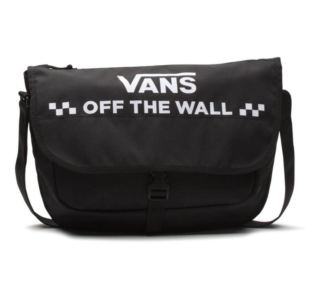6a5e0d4b61 taška (kabelka) VANS - WM COURIER MESSENGER - Black - VN0A3NG6BLK1