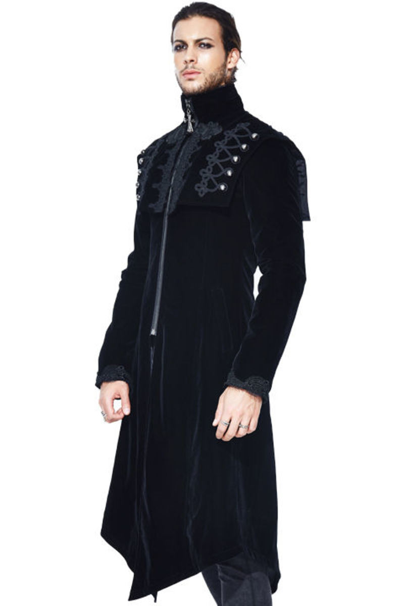 kabát pánsky DEVIL FASHION - CT07701