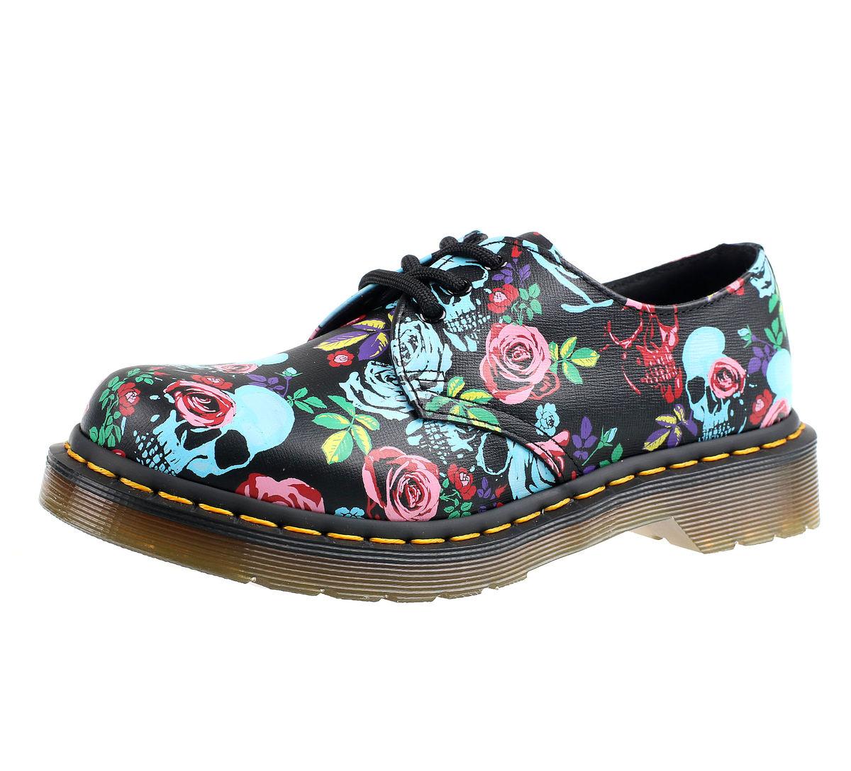 36db0036d16f5 topánky DR.MARTENS - 3 dierkové - ROSE MULTI - DM24428102