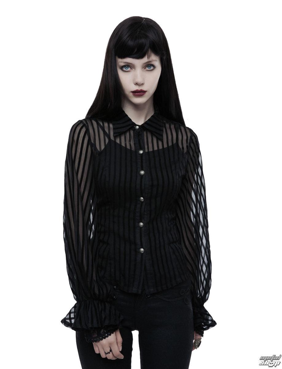 blúzka dámska PUNK RAVE - Temptress - black - WY-823/BK