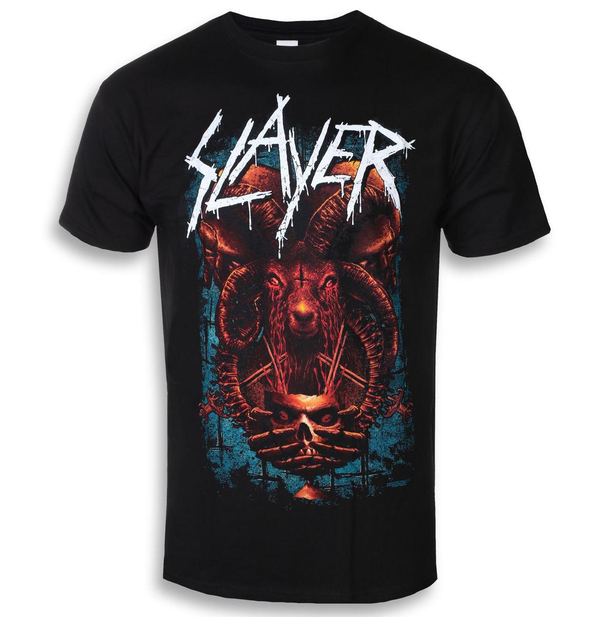 tričko metal ROCK OFF Slayer Offering Čierna L