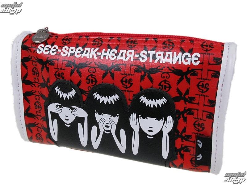 taška EMILY THE STRANGE - Emily (E3081407) See Speak Hear Strange Make Up Case