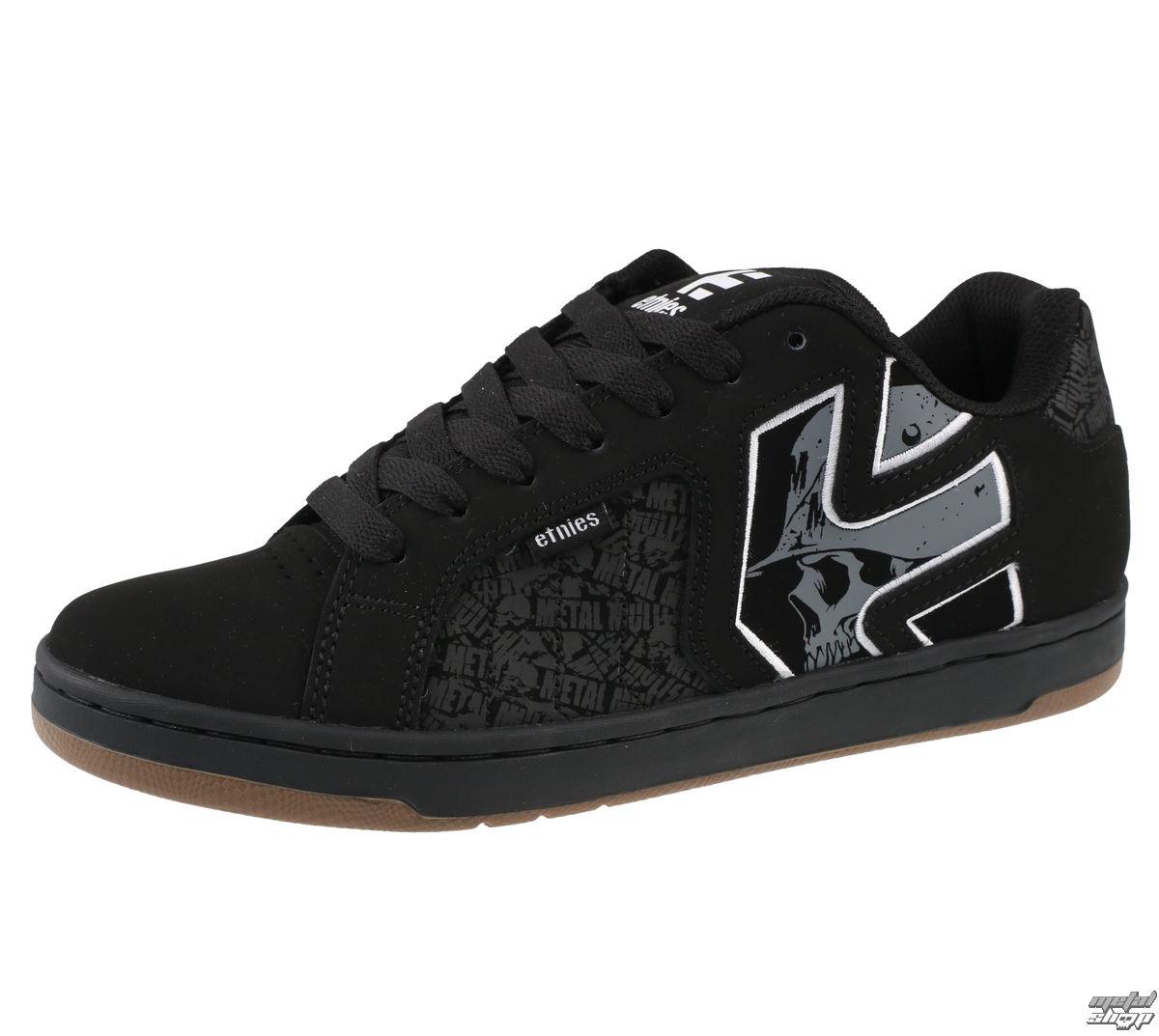 73dfb468de topánky pánske ETNIES - Metal Mulisha - Fader 2 - BLACK   GREY   WHITE