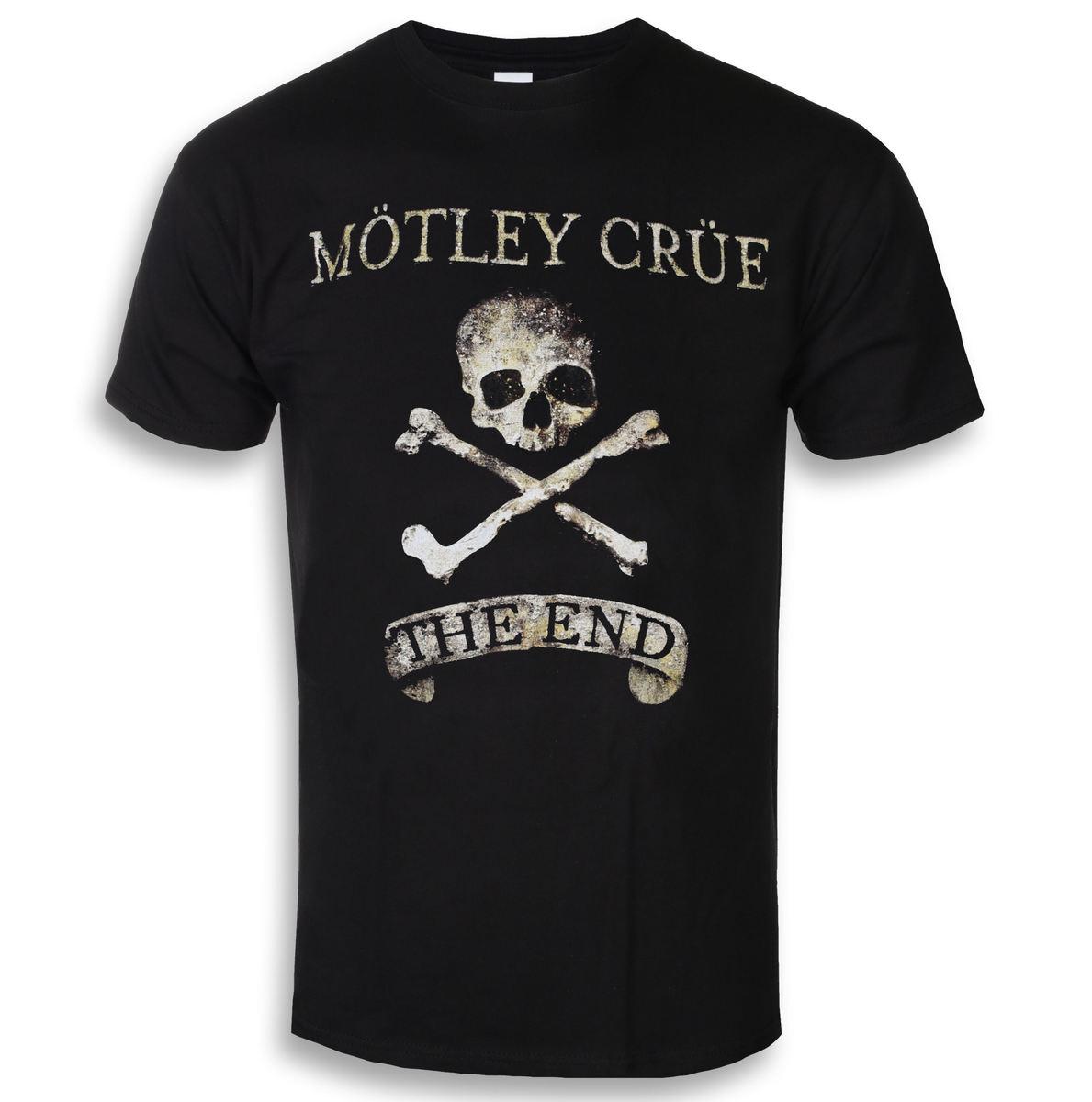 tričko pánske Mötley Crüe - The End - ROCK OFF - MOTTEE29MB