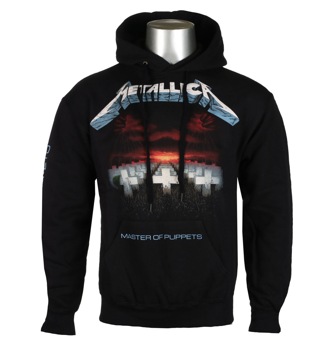 mikina pánska Metallica - Master Of Puppets - Black - RTMTLHDBMAS